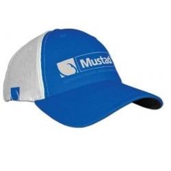 Sapca Trucker Albastru / Alb • Mustad