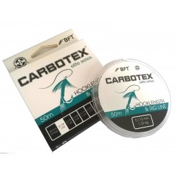 Fir Hooklenght&Rig Line 015 mm / 2.02 kg / 50 m • Carbotex Filament