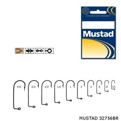 Carlig Bronz pentru Twister • Mustad