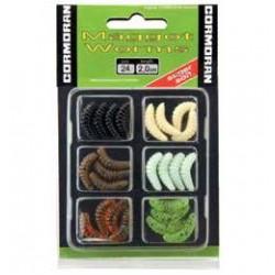 Set Naluci Maggot Worms S1 2cm Diverse Culori 24 bucati • Cormoran