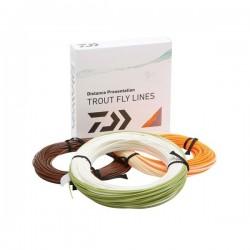 Fir Musca Orange Fly Line/Plutit/Wf/Cls4 • Daiwa